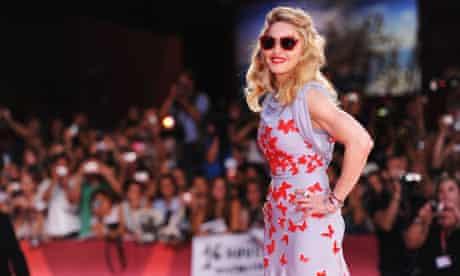 Madonna attends the W.E. premiere during the 68th Venice film festival