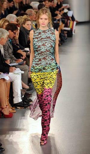 London fashion week: Mary Katrantzou Spring/Summer 2012