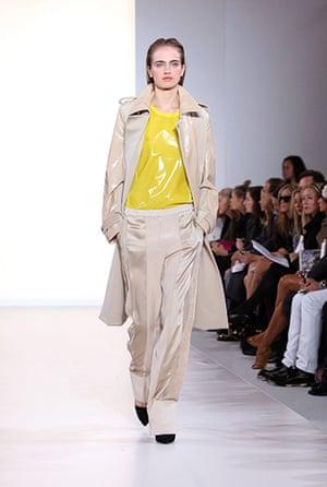 London fashion week: Aquascutum spring/summer 2012