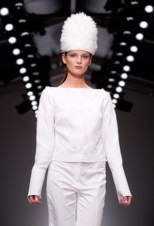 London fashion week: Osman fashion Spring/Summer 2012