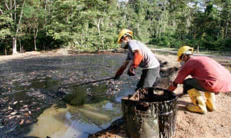 Ecuador rainforest Chevron