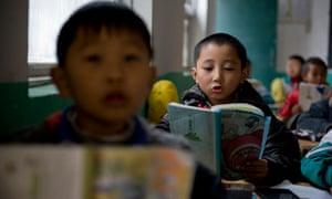 Migrant workers' children in Beijing