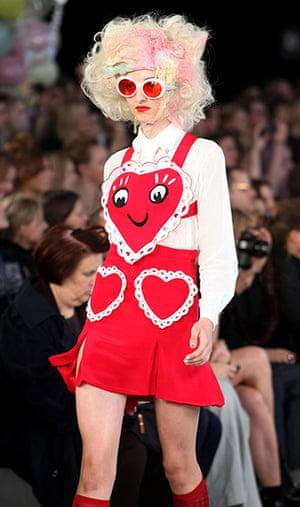 London fashion week: Meadham Kirchhoff Spring/Summer 2012