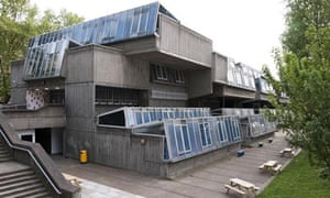 Pimlico school, in central London, designed by John Bancroft and built in 1967-70