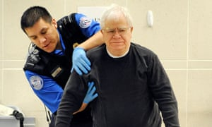 Passenger patdown at Minneapolis