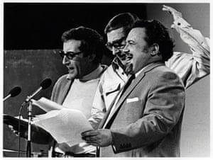 Comedians: The Goons (Peter Sellers, Spoke Milligan, Sir Harry Secombe), 1968