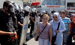 Kurdish protest against government in Istanbul