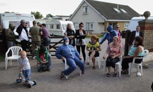 Travellers at Dale Farm face eviction