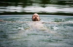 FTA: Mark Blinch: Bruce Grant swims