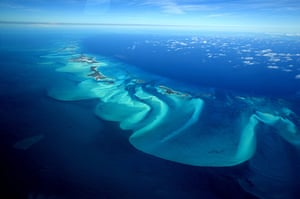 The Sea: An aerial view of Exuma