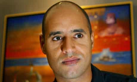 File photo of Saif al-Islam Gaddafi in London