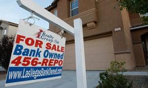 Foreclosed home, Nevada