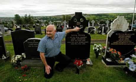 Jimmy Duddy, nephew of one of the Bloody Sunday victims, John Johnston