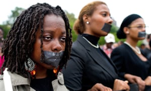 troy davis execution: Students from Howard University protest