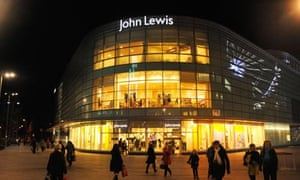 The John Lewis store in the new Liverpool One shopping area.