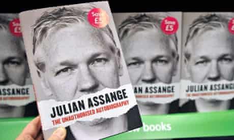 Julian Assange's Autobiography Published in London