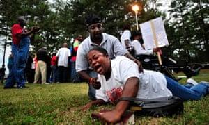 Troy Davis campaigners