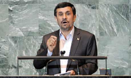 Mahmoud Ahmadinejad at the UN