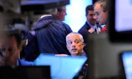 New York Stock Exchange workers