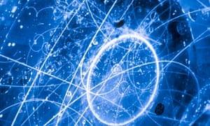Subatomic Neutrino Tracks