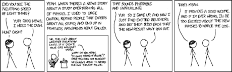 XKCD on Neutrinos