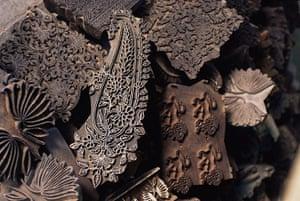 Paisley gallery: Pile of Printing Blocks