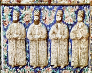 Paisley gallery: Nasser-ed-Din, 1848-96 Shah of Iran,