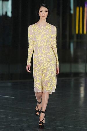 Paisley gallery: Jonathan Saunders: London Fashion Week S/S 2012 - Runway