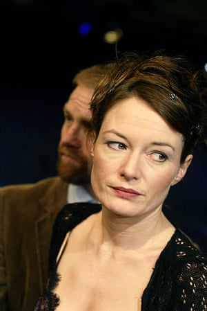 """Theatre: Adrian Rawlins and Catherine Mccormack in """"Dinner"""" at the Loft Theatre"""