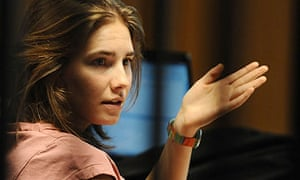Amanda Knox in court in Perugia for the prosecution summing-up in her appeal trial
