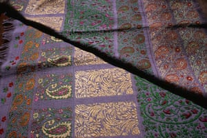 Paisley: Hand Loomed Fabric in Himroo Style