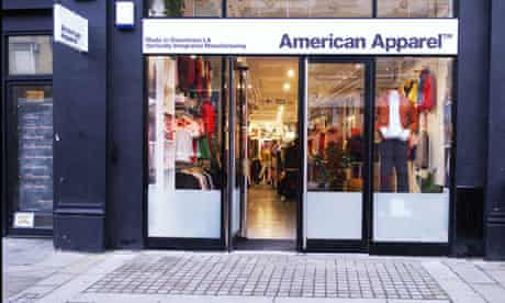 American Apparel in Shoreditch