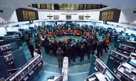 Trading at the London Metal Exchange