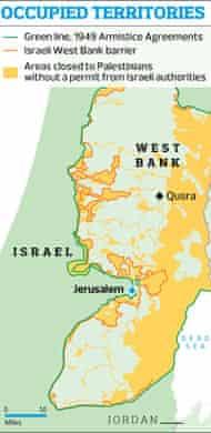Occupied territories graphic