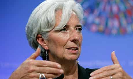 Christine Lagarde in Washington