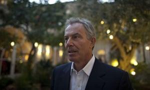 Tony Blair in Jerusalem