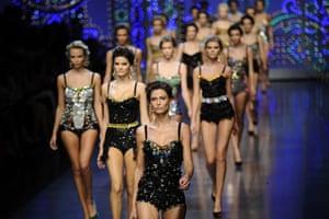 Milan Fashion week: Dolce & Gabbana Spring-Summer 2012 ready-to-wear collection