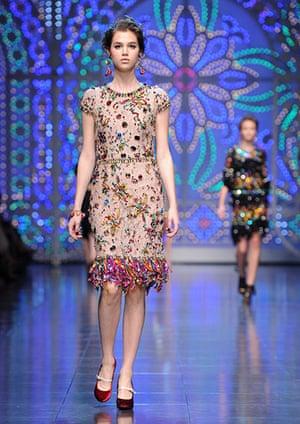 Milan Fashion week: Dolce & Gabbana Spring/Summer 2012 fashion show