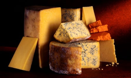 A selection of interesting cheeses