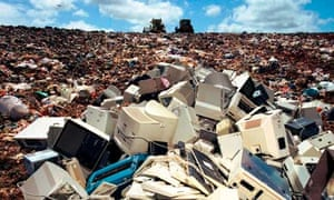 computers landfill