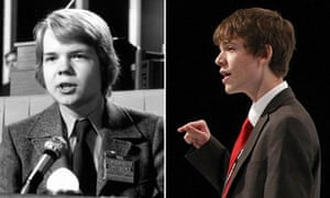 16 year old William Hague and Rory Weal