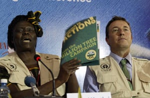 Wangari Maathai: Kenya's 2004 Noble Peace Pize Laureate P
