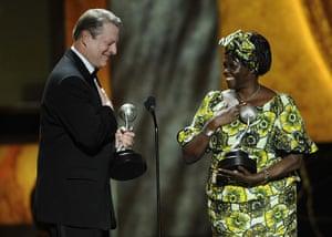 Wangari Maathai: Al Gore,Wangari Maathai