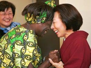Wangari Maathai: in Tokyo