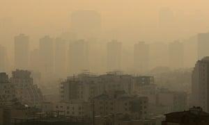 pollution tehran
