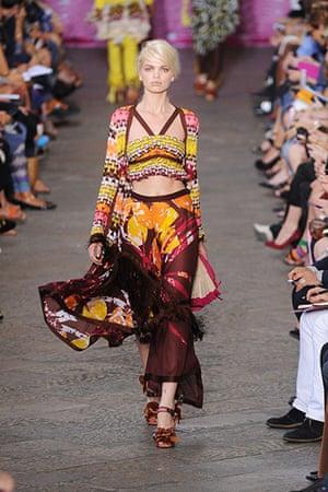 Milan Fashion Week: Missoni Spring/Summer 2012