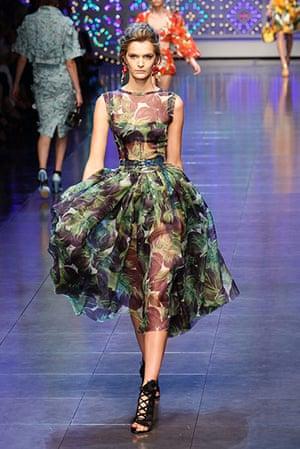 Milan Fashion Week: Dolce & Gabbana Spring/Summer 2012