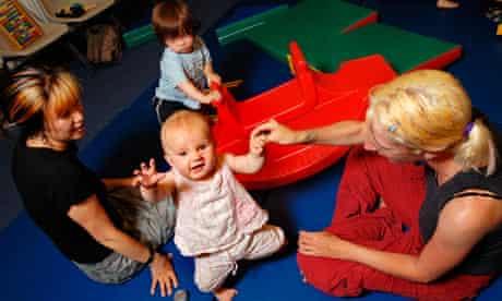 women childcare