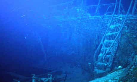 SS Gairsoppa shipwreck approximately 4,700 meters deep