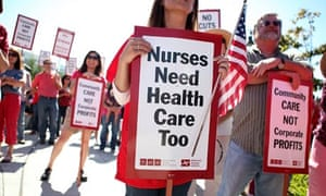 California nurses strike